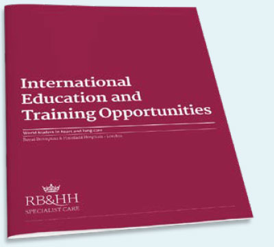 International Education and Training Opportunities brochure