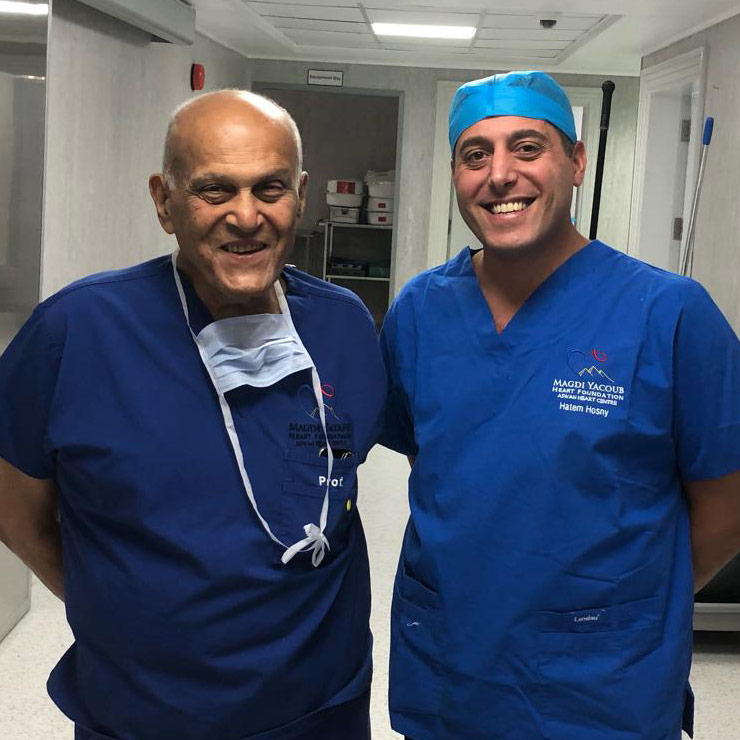 Harefield surgeon shares knowledge in Egypt
