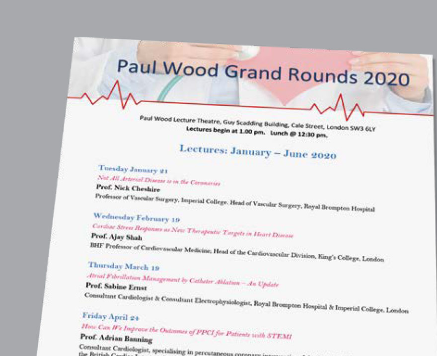Paul Wood Grand Rounds