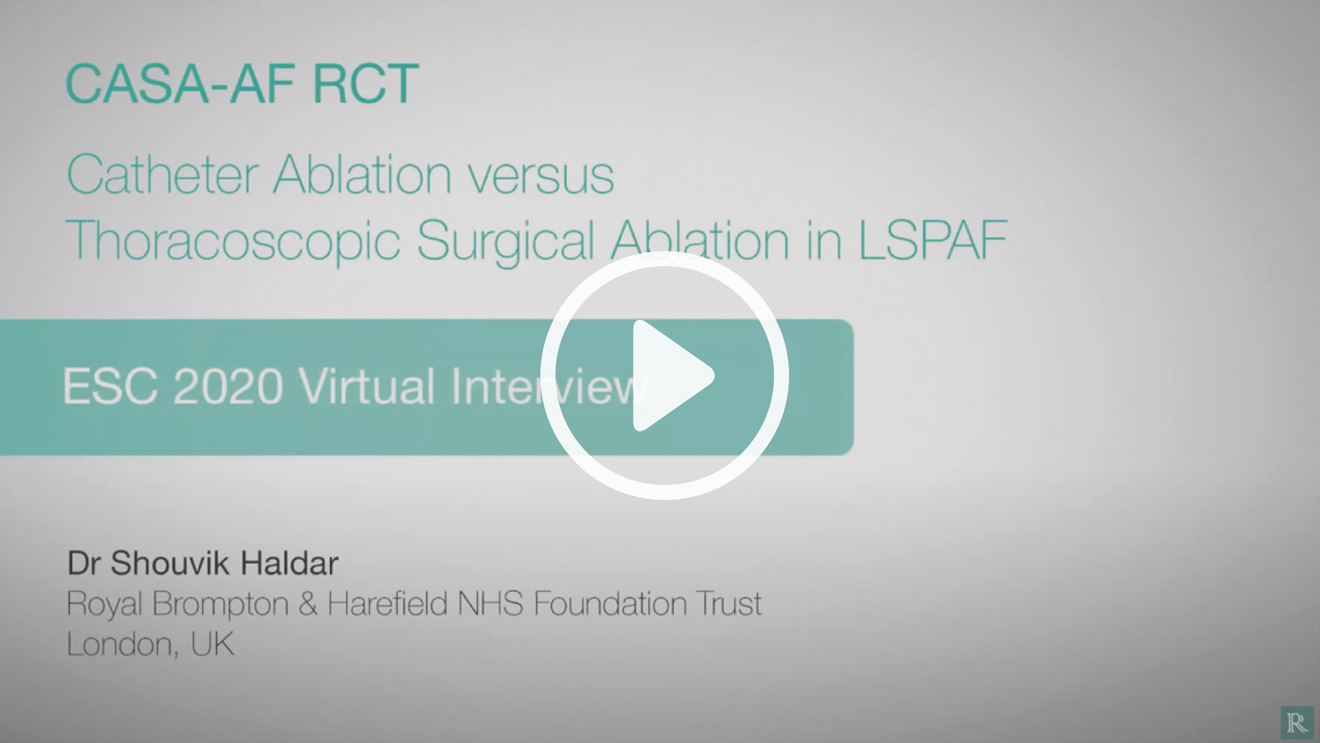 Catheter ablation versus thoracoscopic surgical ablation