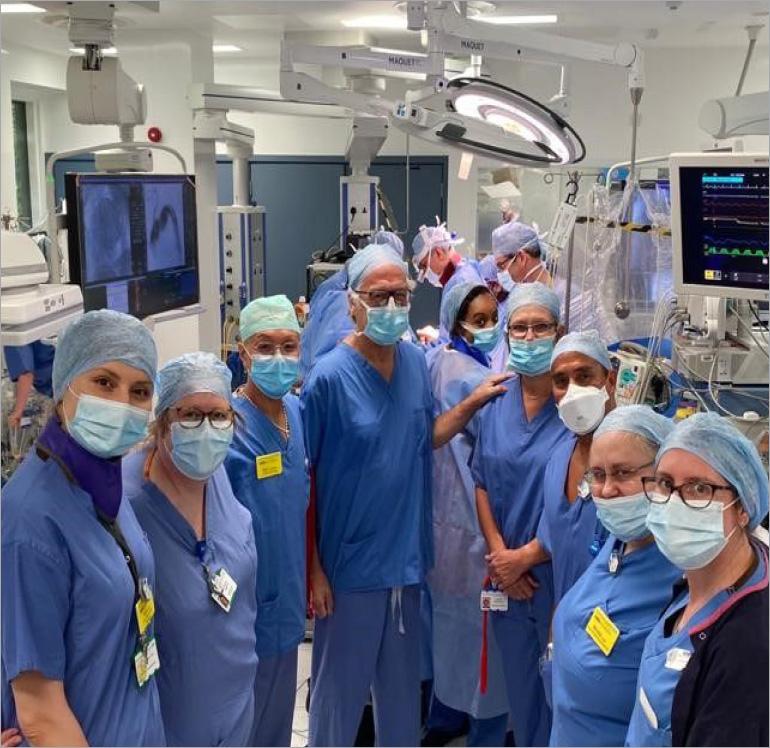 Novel cardiac procedure is a UK first